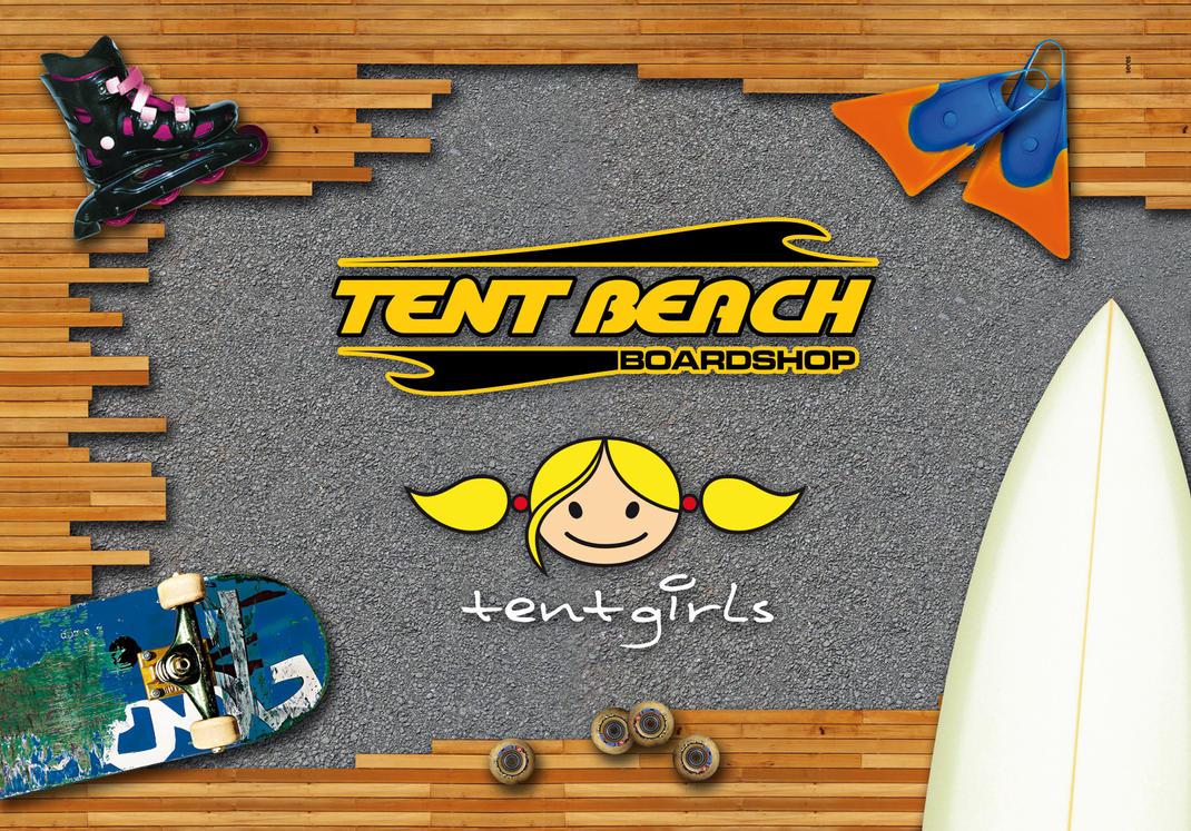 Adesivo Inst. TentBeach by cielart