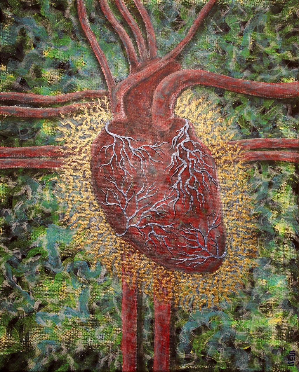 Radiant Heart by scottsampaio