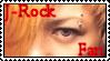 J-Rock Fan Stamp by Acireia