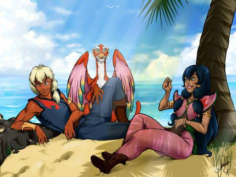 Tula and Ren - Pirates of Dark Water