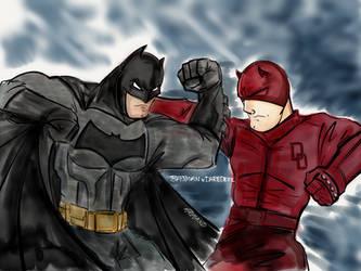 Batman v Daredevil
