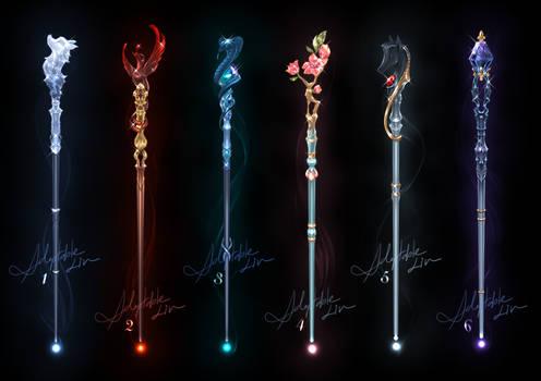 [CLOSED] Adoptable Weapon | Magic wand 02