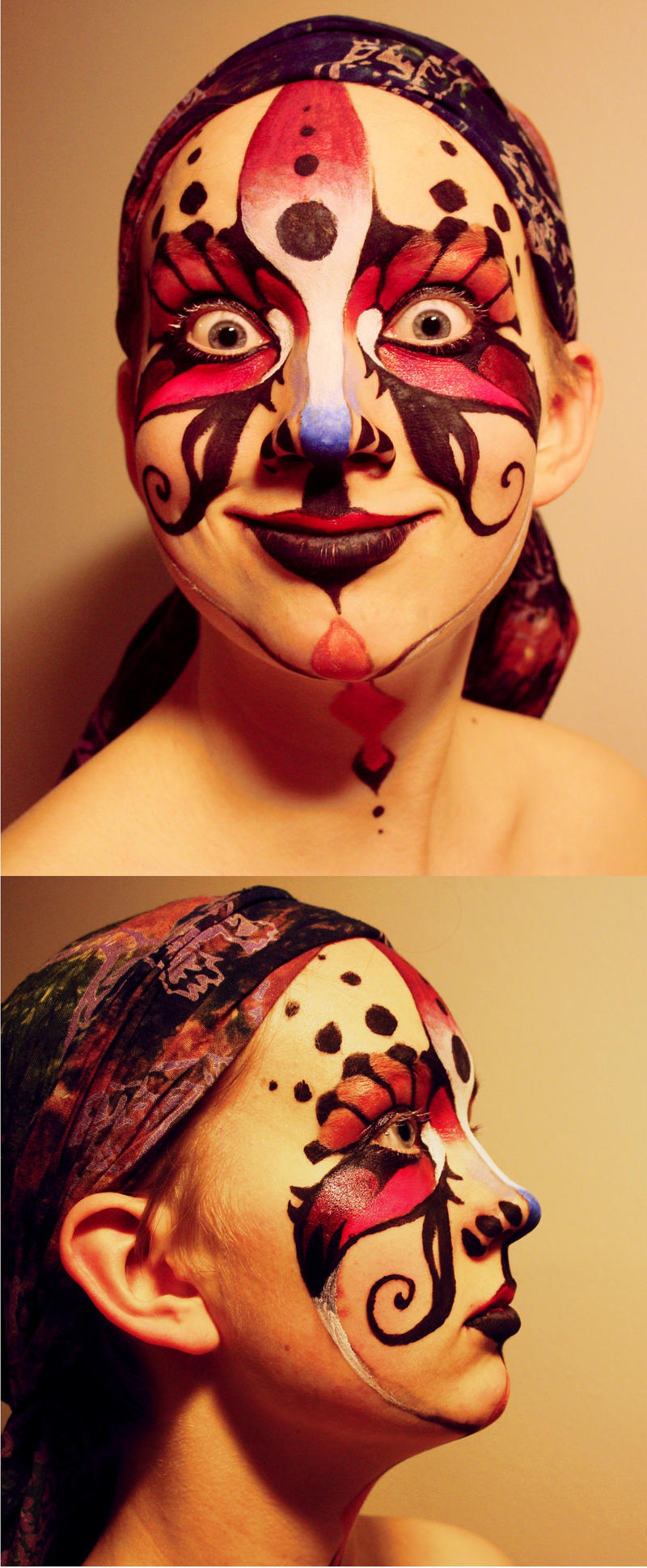 face painting by pemmi