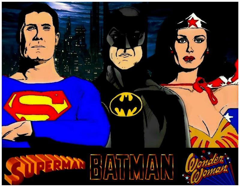 Superman, Batman in Wonder Woman Z Stevenely Na deviantART-5709