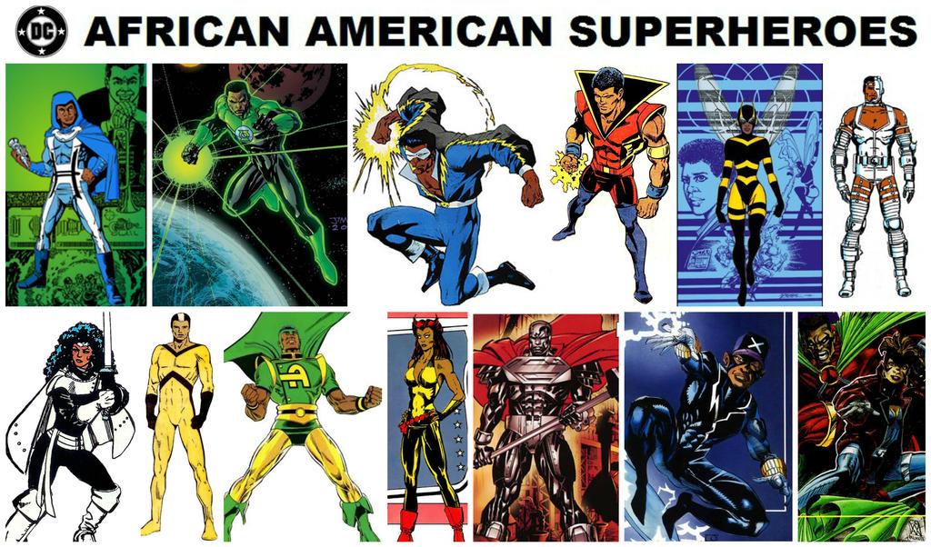 List of black superheroes - Wikipedia