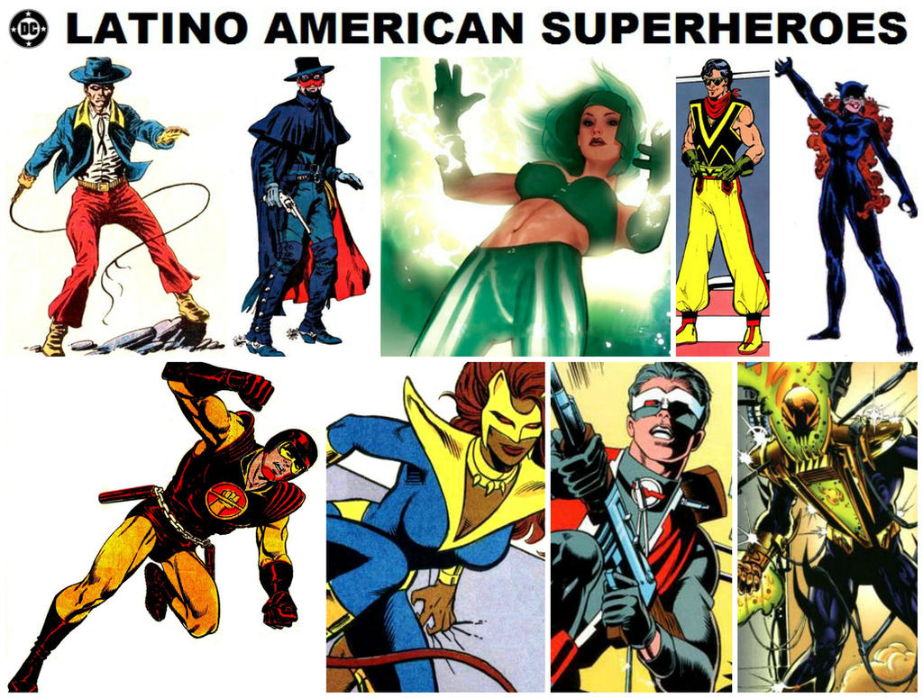 The Women Of Dc Comics Ink In Adam Withers S Dc Comics: DC Latino American Superheroes By StevenEly On DeviantArt