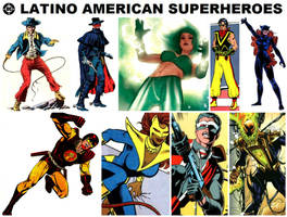 DC Latino American Superheroes by FreakTerrorizes