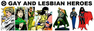 DC Gay and Lesbian Heroes