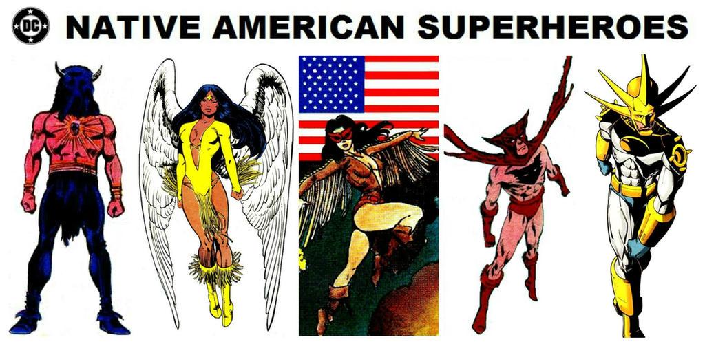 Native American Cartoon Hero