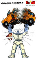 Frank Miller's Big Guy and Rusty the Boy Robot by FreakTerrorizes