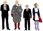 Luthor Administration variant model sheet