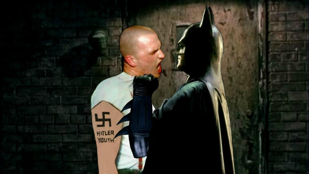 Batman Hates Nazis Corrupting Impressionable Youth by