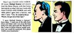 Keaton's Bruce Wayne based on Kane, Robinson art by FreakTerrorizes