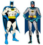 West's Batman based on Carmine Infantino art