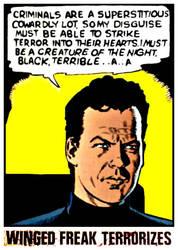 Terrorist Batman Terrorizes Criminals by FreakTerrorizes