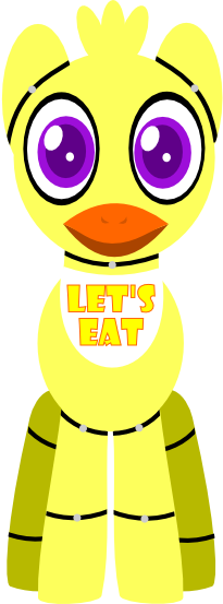 Mlp fnaf chica the chicken pony by carlosbrony art on deviantart