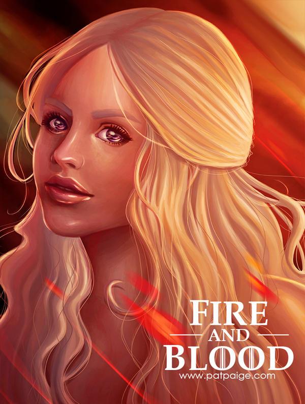 Daenerys Targaryen by PatPaige