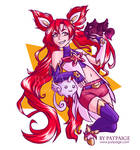 Jinx STAR GUARDIAN by PatPaige