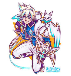 Ezreal STAR GUARDIAN by PatPaige