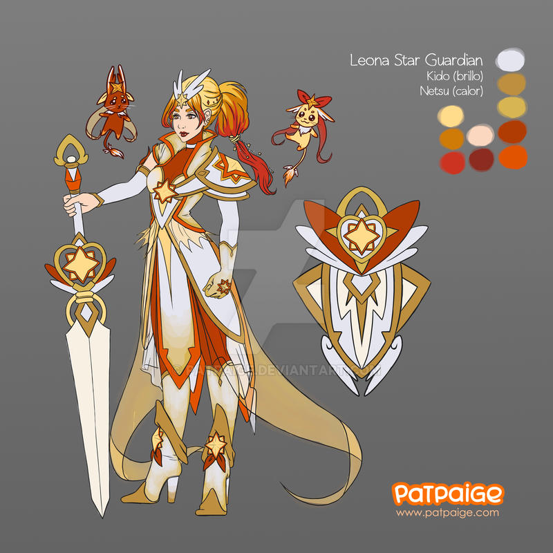 Leona Star Guardian - ConceptArt by PatPaige