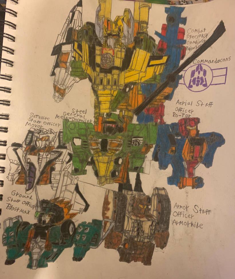 Transformers Generation Neo: Commandocons
