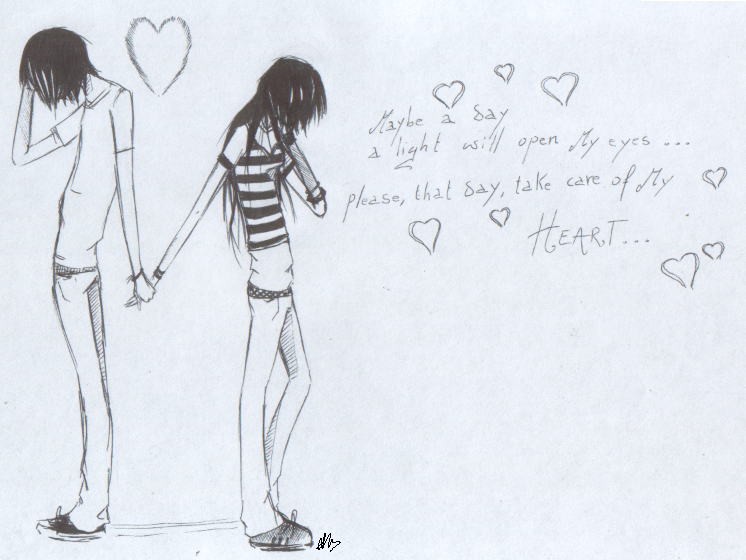 To Things How Easy Emo Draw By DeviantArt EMo LoVe ROmAnTiC Vangelia On