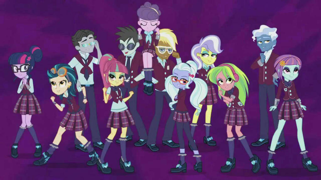 MLP Equestria Girls: Friendship Games: Shadowbolts by ...