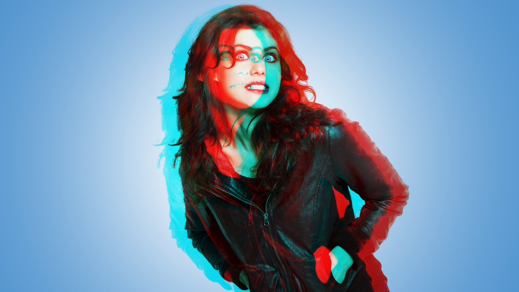 alexandra daddario 3d effect wallpaper by clipse101 on
