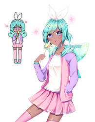 Pastel Girl by Wildhadow