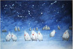 snowbirds asleep