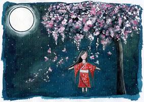 cherryblossom dream by Adnil