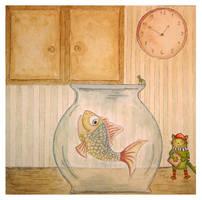 Hello Fish by Adnil