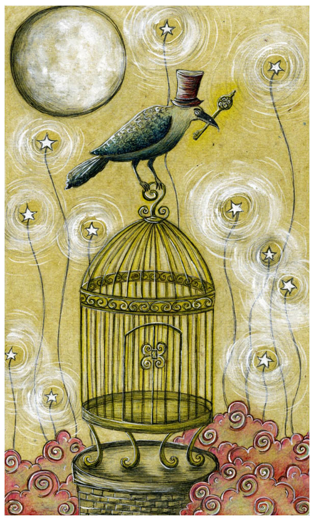 Golden Key of BirdCreek Crow by Adnil