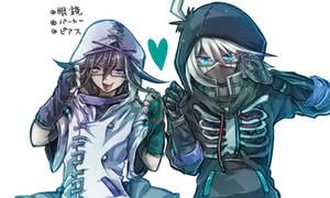 supreme leader and robot 2 by riyuta
