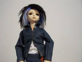 Ami Blue wig