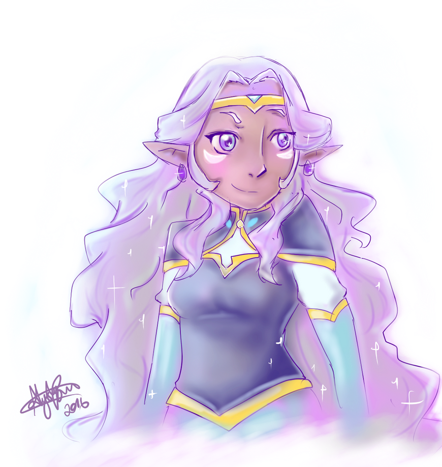 Princess Allura by irohana-xx