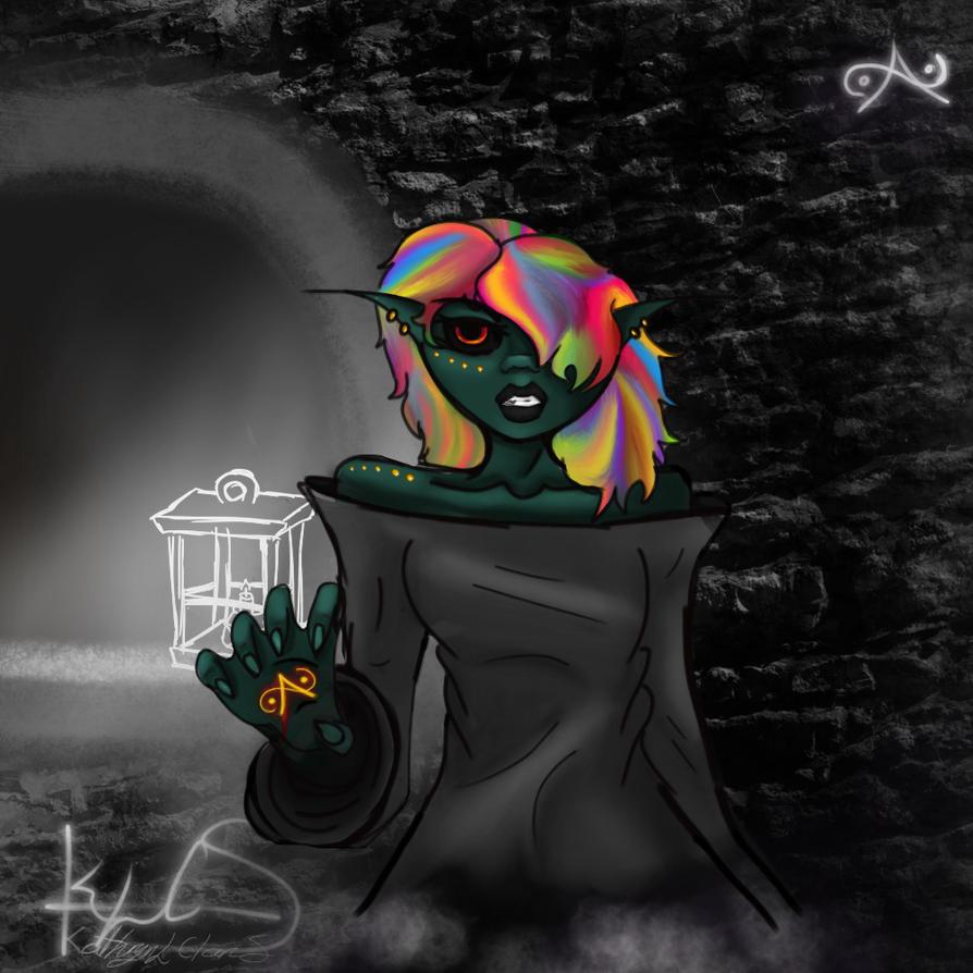 The Mystic Witch by WildKyttiKat