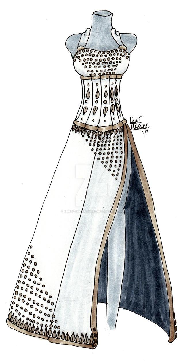 Queen of light redraw by Blueraven-blackbird