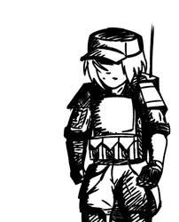 pre-apocalypse military scout