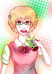 Yako Loves Bubble Tea by Chowing