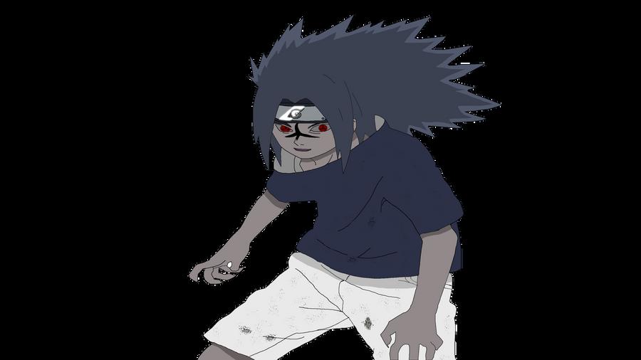 sasuke uchiha curse mark by xblader19 on deviantart