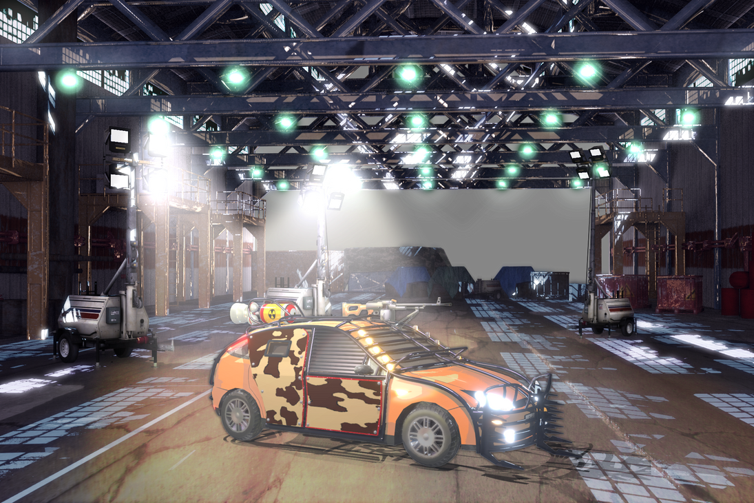 Safehouse Garage Zombie Game by arkem8