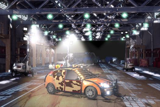 Safehouse Garage Zombie Game