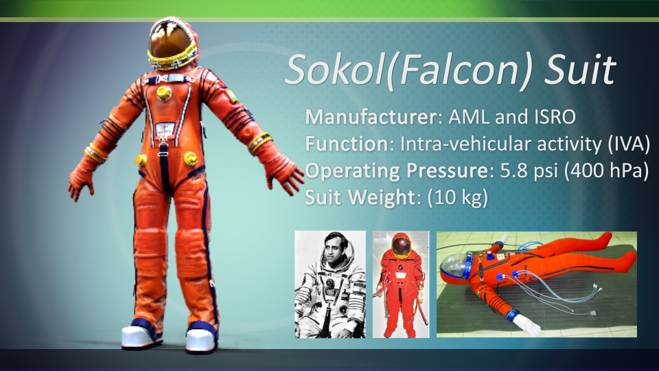 Sokol Astronaut Suit by arkem8