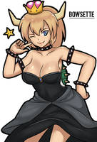 Bowsette by rungbersa