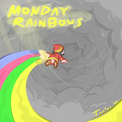 Monday Rainbows by Mutoh
