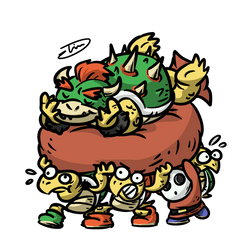 How the Koopa King stole Christmas by Mutoh