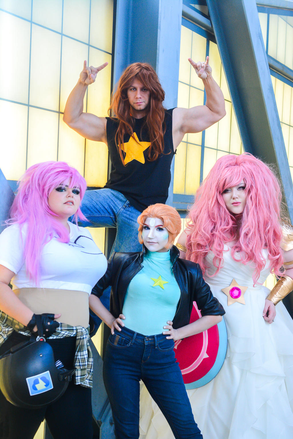 steven cosplay pearl Blue universe