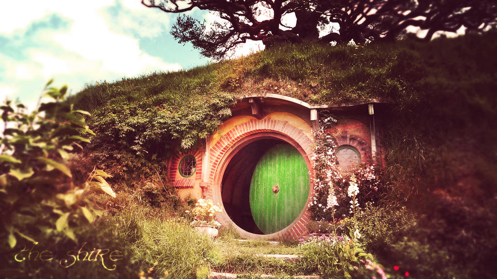 The Shire Hobbit LOTR Wallpaper By Tindog1