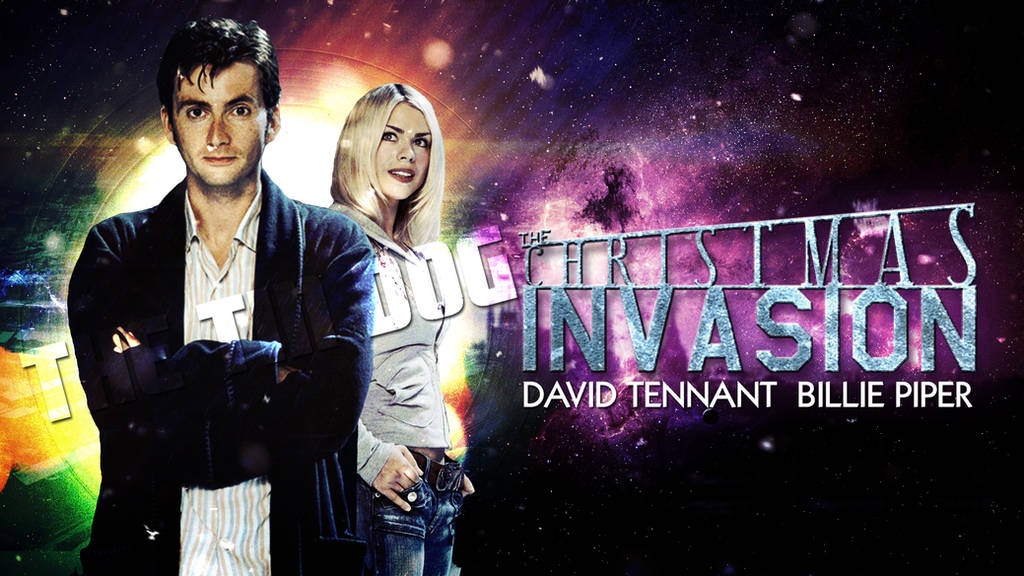 Doctor Who The Christmas Invasion.Doctor Who The Christmas Invasion Wallpaper By Tindog1 On